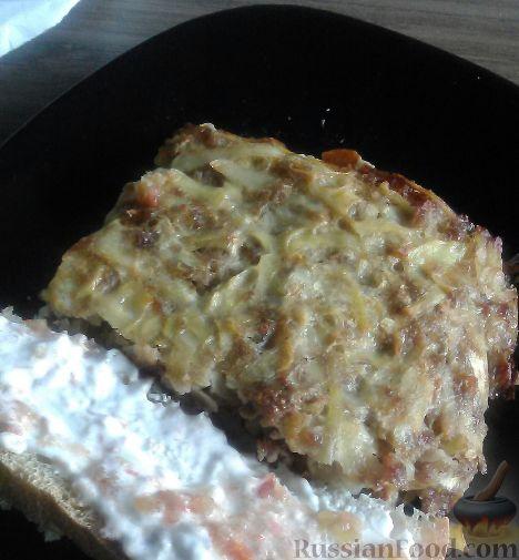 Фото приготовления рецепта: Творожные пирожки с яблоками - шаг №8
