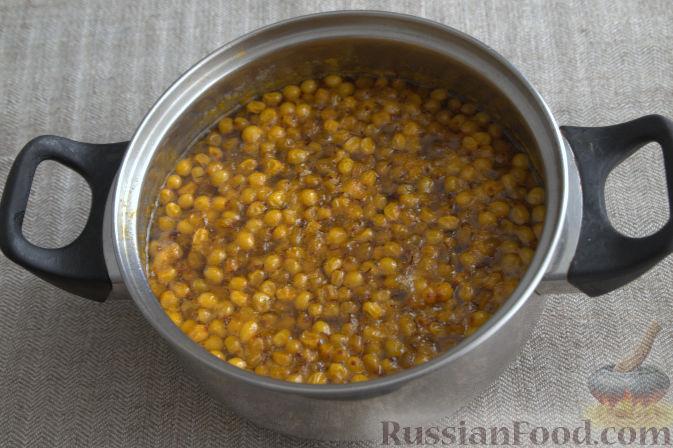 Фото приготовления рецепта: Облепиховое варенье с имбирем - шаг №6