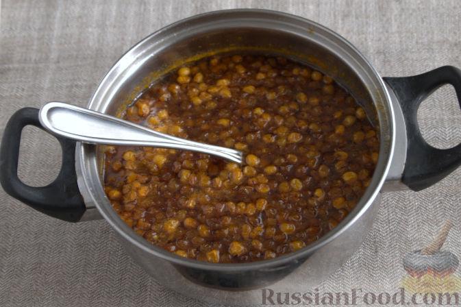 Фото приготовления рецепта: Облепиховое варенье с имбирем - шаг №7