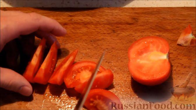 """Фото приготовления рецепта: Картошка """"фри"""" с яичным белком, запечённая в духовке - шаг №7"""