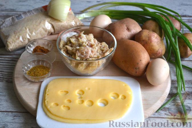 Картофельные персики рецепт