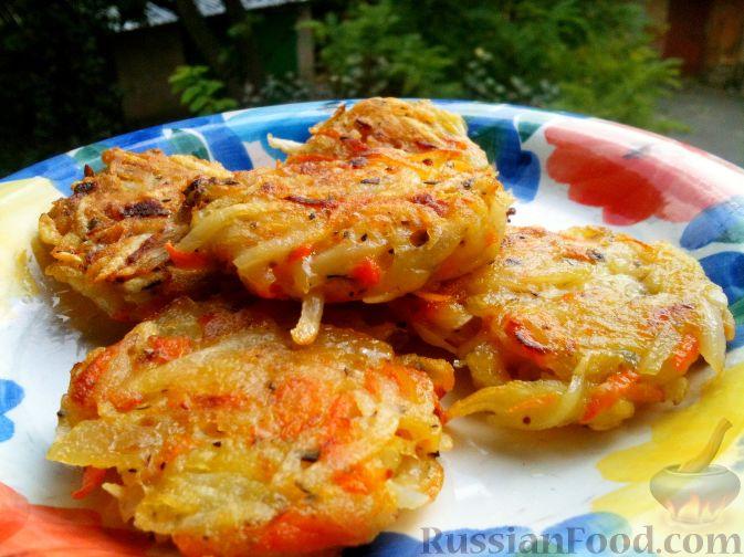 картофельные драники рецепт приготовления с колбасой