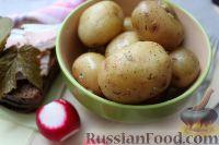 Фото к рецепту: Как сварить картошку в микроволновке