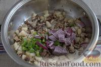 Фото приготовления рецепта: «Осеннее» рагу с топинамбуром, грибами и фасолью - шаг №3