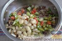 Фото приготовления рецепта: «Осеннее» рагу с топинамбуром, грибами и фасолью - шаг №5