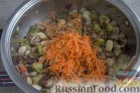 Фото приготовления рецепта: «Осеннее» рагу с топинамбуром, грибами и фасолью - шаг №6