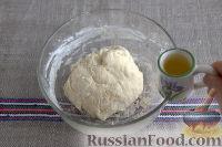 Фото приготовления рецепта: Симит (турецкий бублик с кунжутом) - шаг №4