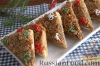 Фото к рецепту: Новогоднее печенье с грильяжем