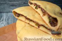 Фото к рецепту: Лобиани (грузинские лепешки)