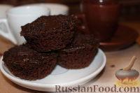 Фото к рецепту: Шоколадные маффины (в микроволновке)