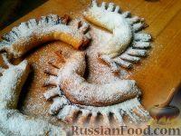 """Фото к рецепту: Печенье """"Гребешки"""" из творожного теста"""