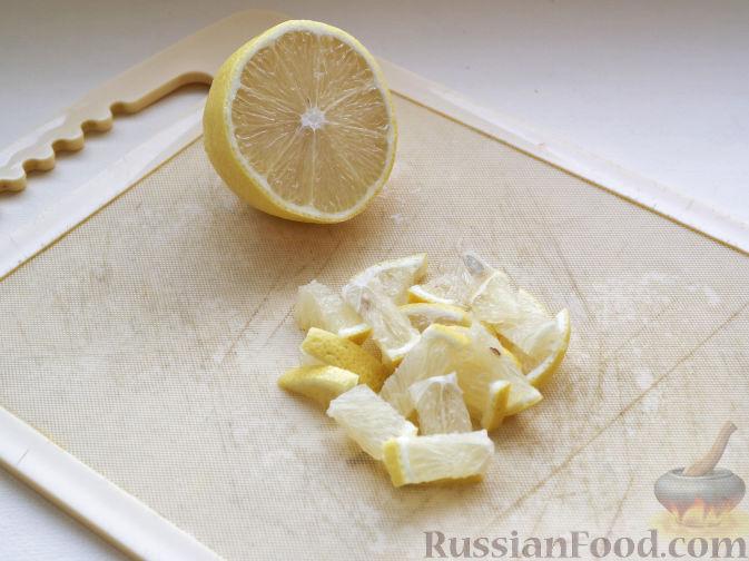 Фото приготовления рецепта: Яблочный штрудель из лаваша - шаг №6
