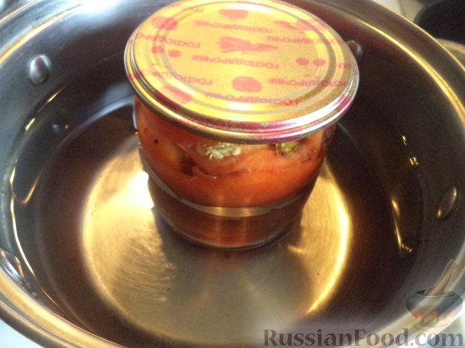 Фото приготовления рецепта: Творожно-сметанный десерт с апельсином и кукурузными хлопьями - шаг №17