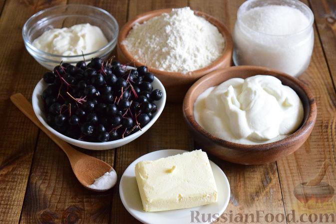 Фото приготовления рецепта: Пирог с черноплодной рябиной - шаг №1