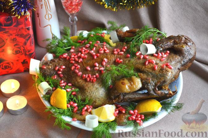 Фото приготовления рецепта: Утка праздничная - шаг №7