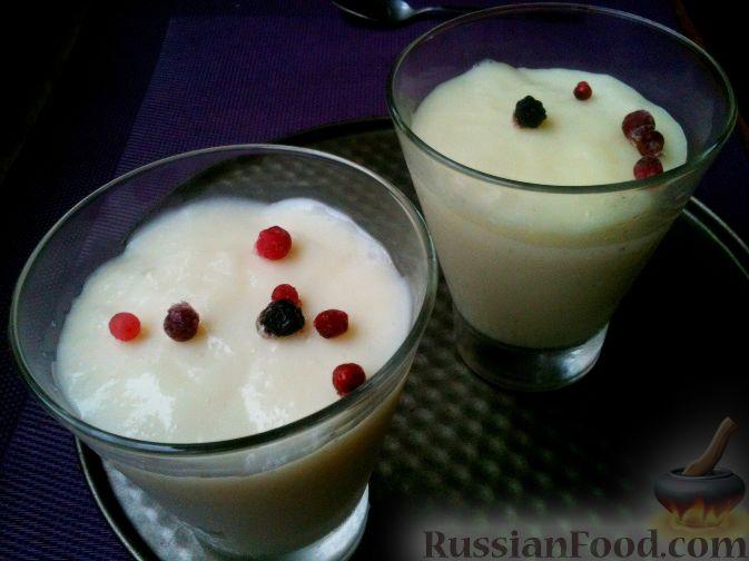 из молока с Десерты фото рецепты