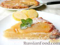 Фото к рецепту: Грушевый пирог на скорую руку