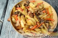 Фото приготовления рецепта: Скоблянка - шаг №9