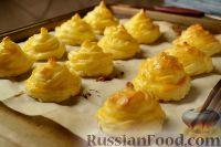 Фото к рецепту: Гарнир «Герцогиня» из картофеля