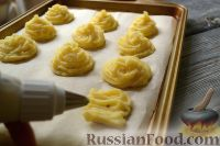 Фото приготовления рецепта: Гарнир «Герцогиня» из картофеля - шаг №7