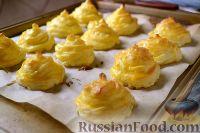 Фото приготовления рецепта: Гарнир «Герцогиня» из картофеля - шаг №11