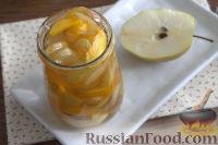 Фото к рецепту: Консервированная груша с тыквой