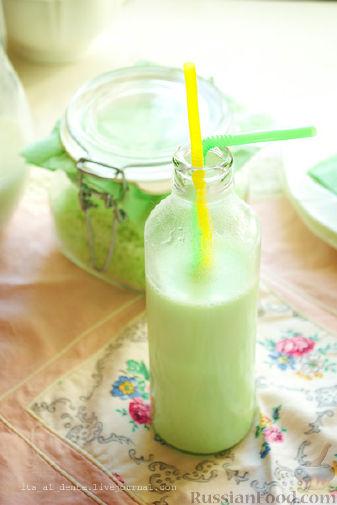 Рецепт Мятное молоко