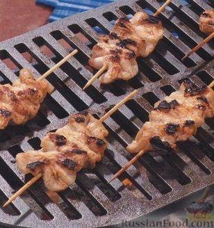 Рецепт Свинина, жаренная на гриле