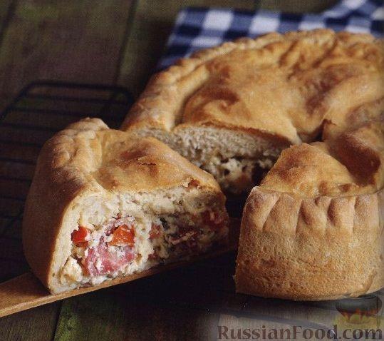 Рецепт Хлеб с барской начинкой