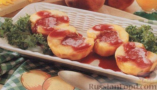 Рецепт Персики, приготовленные на гриле
