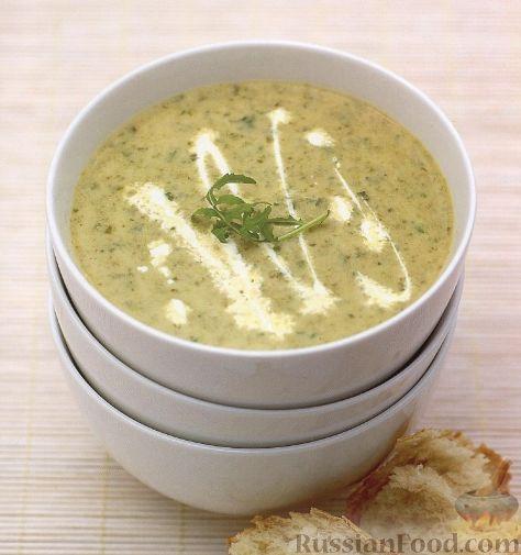 Рецепт Овощной суп-пюре с рисом