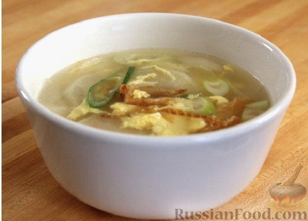 Фото приготовления рецепта: Суп из сушеной рыбы по-корейски (букогук) - шаг №5