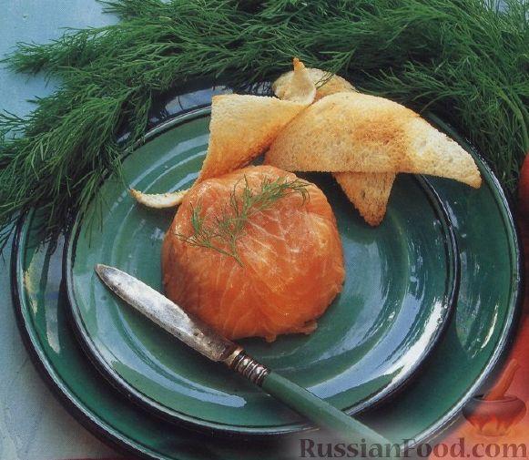 Рецепт Закуска из лосося