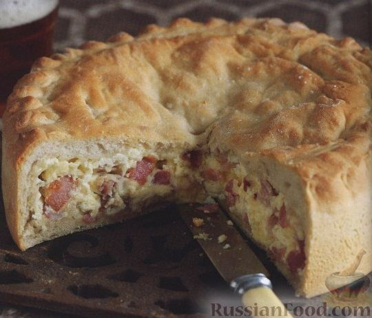 Рецепт Хлеб с сыром и беконом