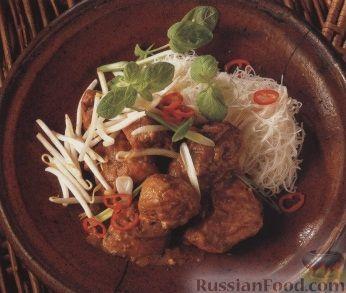 Рецепт Куриное рагу с картофелем в пряном соусе