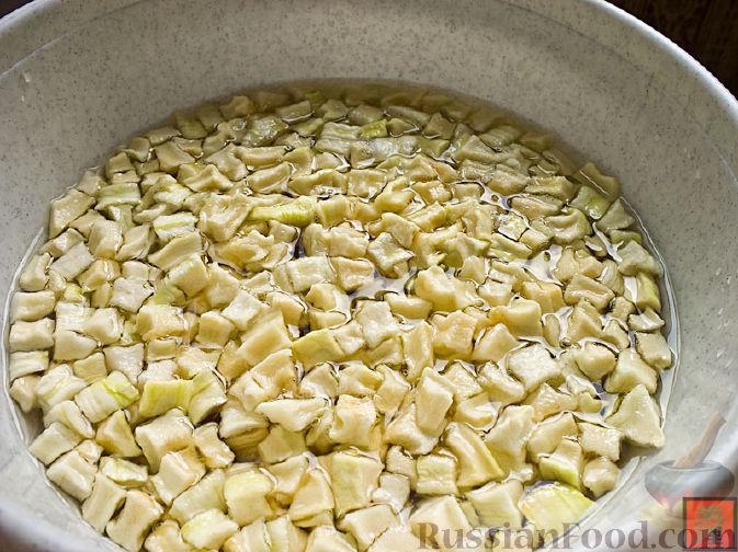 Фото приготовления рецепта: Закрытые песочные мини-пироги с грибами и фасолью - шаг №16