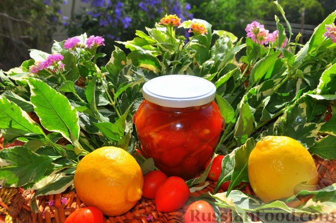 Рецепт Варенье из помидорок шери (черри)