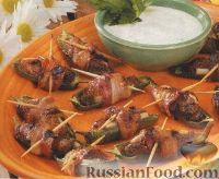 Фото к рецепту: Перец халапеньо, фаршированный куриным филе