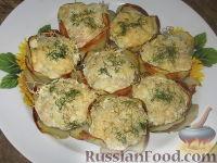Фото к рецепту: Мини-запеканки из кабачка и курицы
