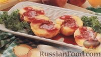 Фото к рецепту: Персики, приготовленные на гриле
