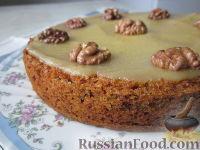 Фото к рецепту: Морковный торт (постный)
