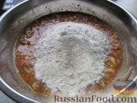 Фото приготовления рецепта: Морковный торт (постный) - шаг №7