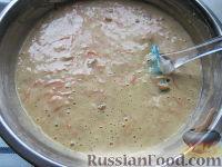 Фото приготовления рецепта: Морковный торт (постный) - шаг №8