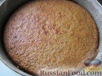 Фото приготовления рецепта: Морковный торт (постный) - шаг №9