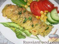 Фото к рецепту: Картофель, запеченный с сыром и базиликом