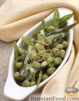 Фото к рецепту: Бобовые в сливочно-лимонном соусе