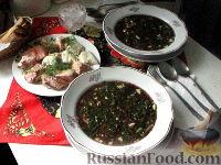 Фото к рецепту: Ботвинья