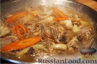 Фото приготовления рецепта: Дакжим (курица с овощами по-корейски) - шаг №7