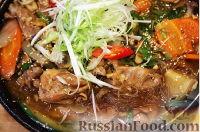 Фото приготовления рецепта: Дакжим (курица с овощами по-корейски) - шаг №10