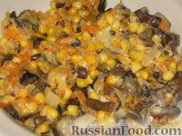 Фото приготовления рецепта: Пикантные капустные конвертики - шаг №3